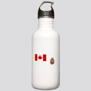 Canadian Forces Flag Stainless Water Bottle 1.0L
