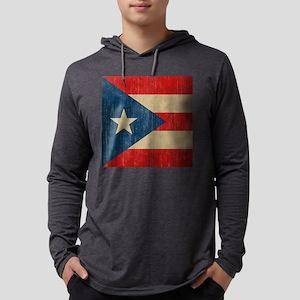 VintagePR Mens Hooded Shirt