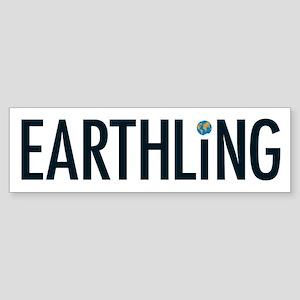 Earthling - Bumper Sticker