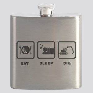 Excavating Flask