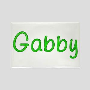 Gabby Glitter Gel Rectangle Magnet