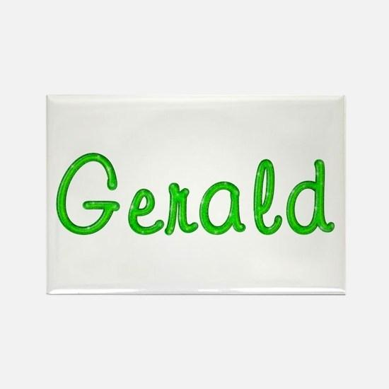 Gerald Glitter Gel Rectangle Magnet