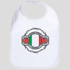 Italy Boxing Bib