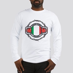 Italy Boxing Long Sleeve T-Shirt