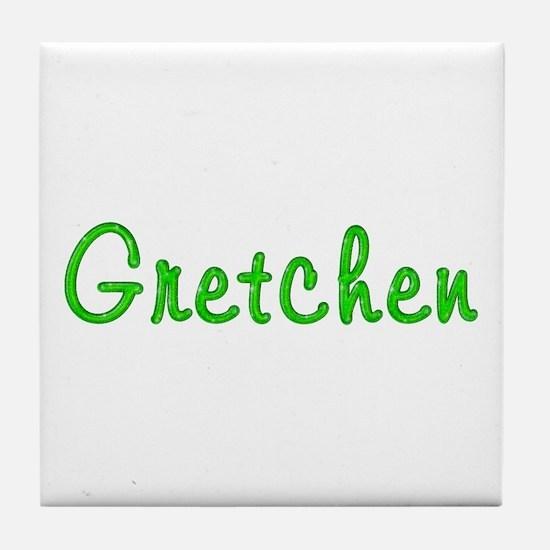 Gretchen Glitter Gel Tile Coaster
