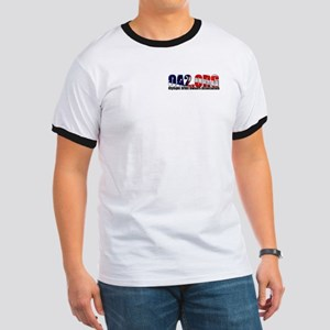 OA2 Flag Logo Ringer T