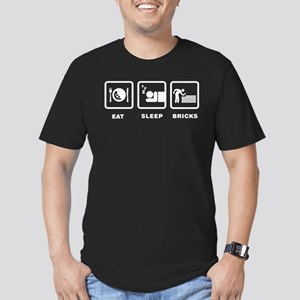 Bricklaying Men's Fitted T-Shirt (dark)