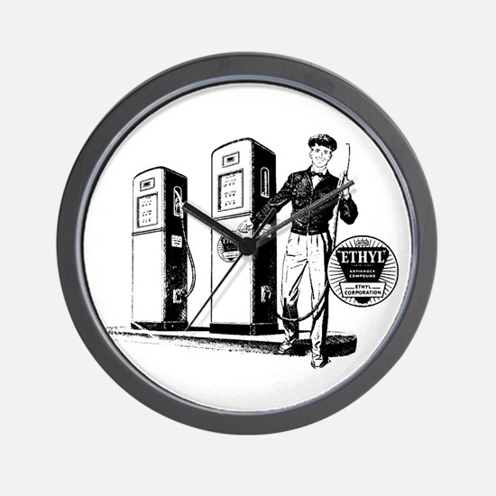 Ethyl Gasoline Wall Clock