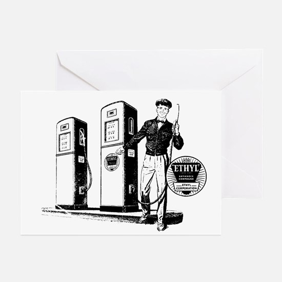 Ethyl Gasoline Greeting Cards (Pk of 10)