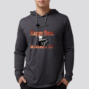 Happy Hour - Bottoms Up Mens Hooded Shirt