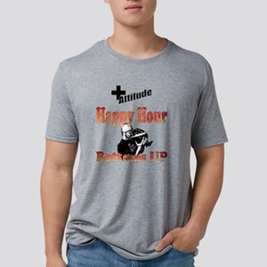Happy Hour - Bottoms Up Mens Tri-blend T-Shirt