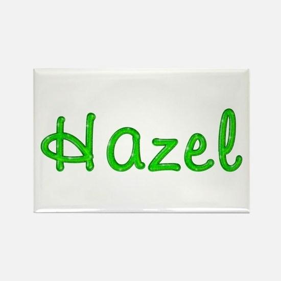 Hazel Glitter Gel Rectangle Magnet