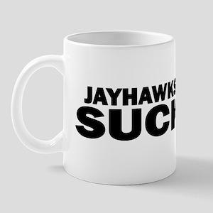 kansasjayhawkssuck Mugs