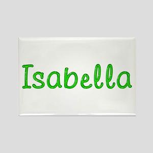 Isabella Glitter Gel Rectangle Magnet