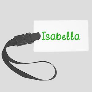 Isabella Glitter Gel Large Luggage Tag