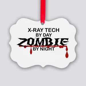 X-Ray Tech Zombie Picture Ornament