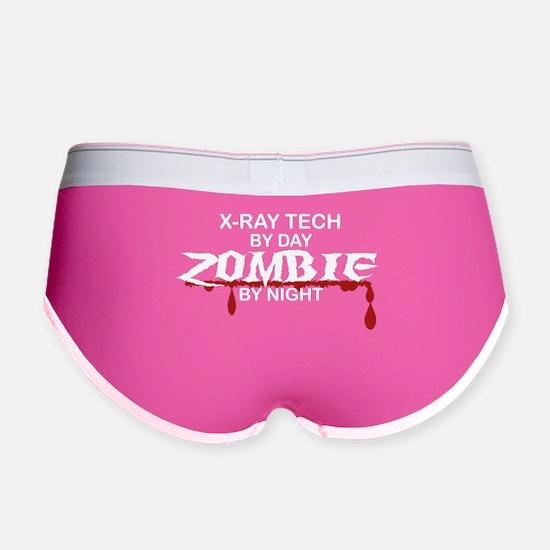 X-Ray Tech Zombie Women's Boy Brief