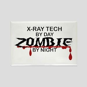 X-Ray Tech Zombie Rectangle Magnet