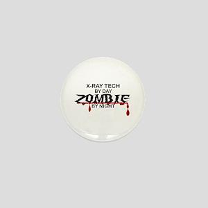 X-Ray Tech Zombie Mini Button