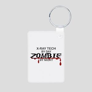 X-Ray Tech Zombie Aluminum Photo Keychain