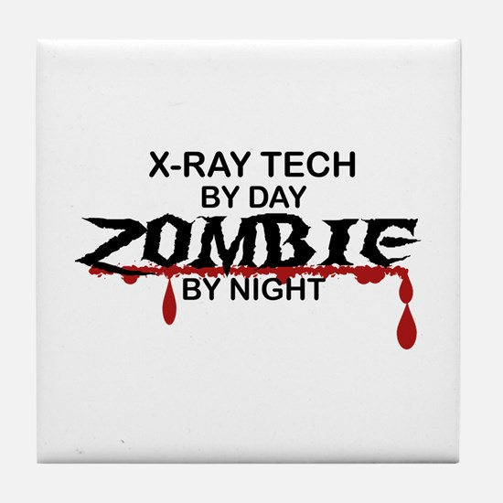 X-Ray Tech Zombie Tile Coaster