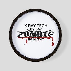 X-Ray Tech Zombie Wall Clock