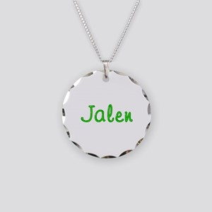 Jalen Glitter Gel Necklace Circle Charm