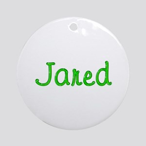 Jared Glitter Gel Round Ornament