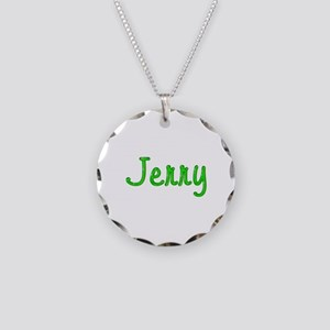 Jerry Glitter Gel Necklace Circle Charm