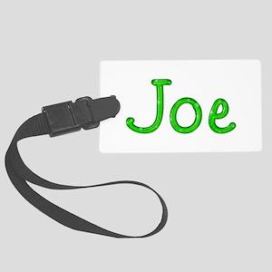 Joe Glitter Gel Large Luggage Tag
