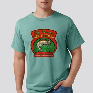 Trout jumping fly fishin Mens Comfort Colors Shirt