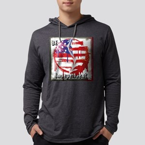BE Independent Mens Hooded Shirt