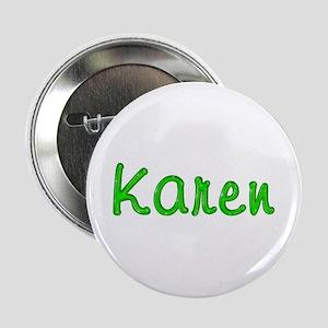Karen Glitter Gel Button