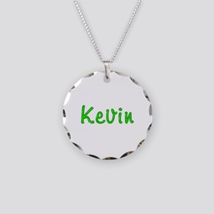 Kevin Glitter Gel Necklace Circle Charm