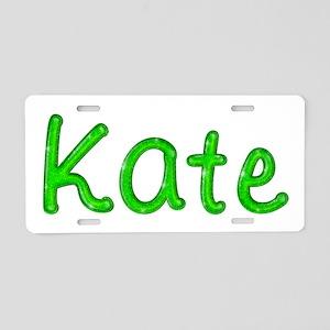 Kate Glitter Gel Aluminum License Plate