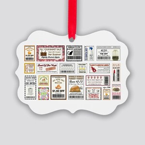 COOL COUPONS Picture Ornament