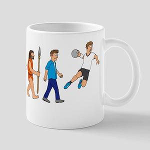 Evolution handball player Mug