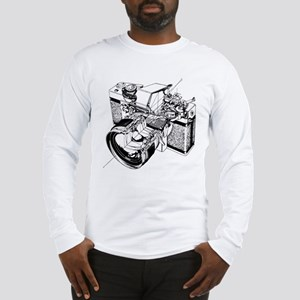Cutaway Camera Long Sleeve T-Shirt