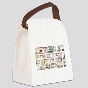 COOL COUPONS Canvas Lunch Bag