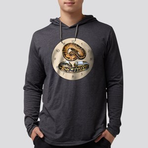 pied Mens Hooded Shirt