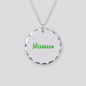 Maureen Glitter Gel Necklace Circle Charm