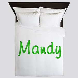 Mandy Glitter Gel Queen Duvet