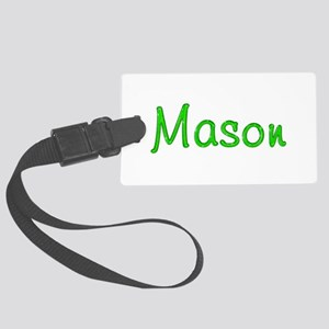 Mason Glitter Gel Large Luggage Tag
