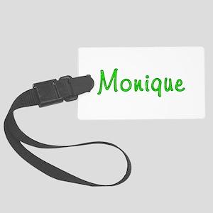 Monique Glitter Gel Large Luggage Tag