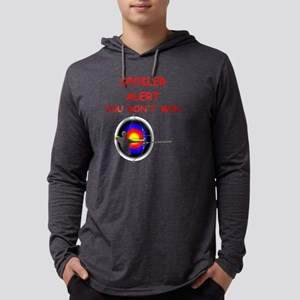 i love archery Mens Hooded Shirt