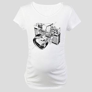 Cutaway Camera Maternity T-Shirt