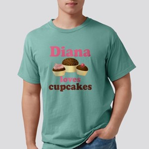 Daian loves cupcakes 201 Mens Comfort Colors Shirt