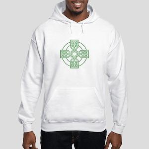 green celtic cross Hooded Sweatshirt