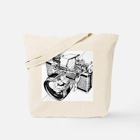 Cutaway Camera Tote Bag