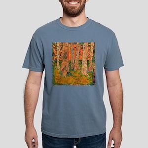 Orange Tangerine Trees Mens Comfort Colors Shirt